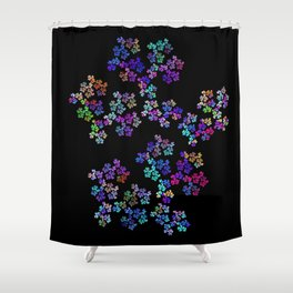 little flowers Shower Curtain
