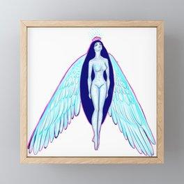 Modern Angel  Framed Mini Art Print
