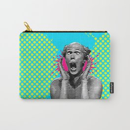 Shouting Man Pop Art Carry-All Pouch