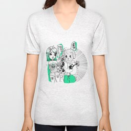 Are you afraid of ghosts? Unisex V-Neck