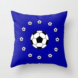 Ballon rond Throw Pillow
