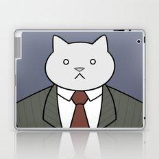 Business Cat Laptop & iPad Skin