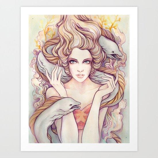 Flotsam and Jetsam Art Print