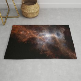 Ionized Carbon Atoms in Orion Rug