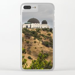 Griffith Park Observatory Clear iPhone Case
