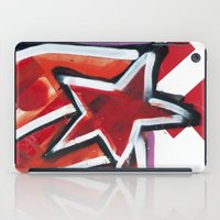 grafitti iPad Cases featuring Grafitti Star by Leslie Philipp