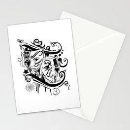 Zodiac - Gemini Stationery Cards