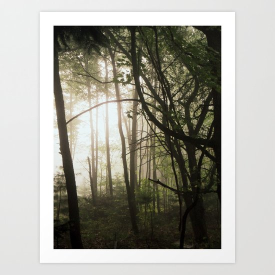 Find the Light in Dark Places Art Print