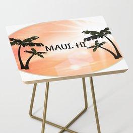 Maui, Hawaii Sunset Side Table