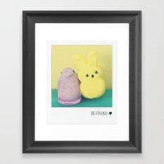 Best Friends ♥ Framed Art Print