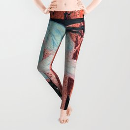 Eugene Grasset - Three women and three wolves - Digital Remastered Edition Leggings