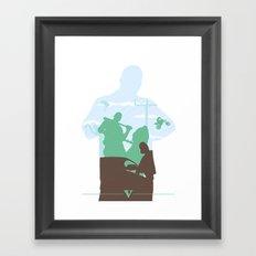 GTA V - FRANKLIN CLINTON Framed Art Print