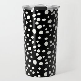 Black and White Dalmatian Travel Mug