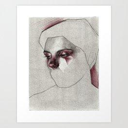 NaNoDrawMo 2012 - 22 Art Print