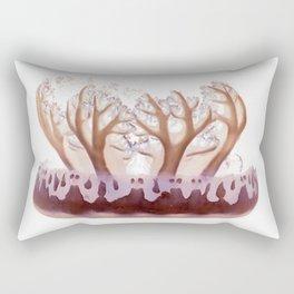 upside down jelly fish Rectangular Pillow