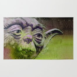 YODA - quote Rug