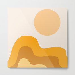 Sun Dunes 02 Metal Print