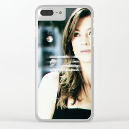 No Angel Clear iPhone Case