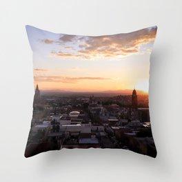 San Miguel de Allende at Sunset : Heart of Mexico Throw Pillow