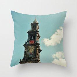 Nieuwe Kerk Throw Pillow