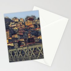 Porto from the bridge. Stationery Cards