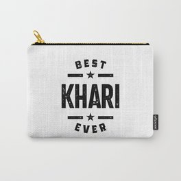 Khari First Name Carry-All Pouch