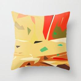 Desert of love Throw Pillow