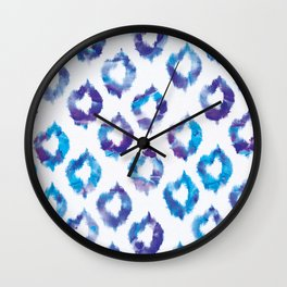 Quatrefoil Melts Wall Clock