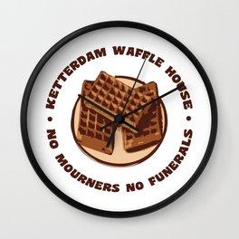 Ketterdam Waffle House Wall Clock