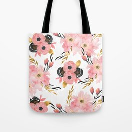 Night Meadow on White Tote Bag