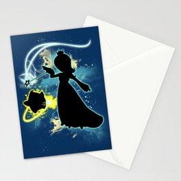 Super Smash Bros. Rosalina Silhouette Stationery Cards