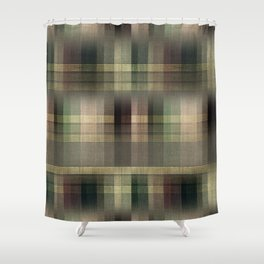 """Scottish squares"" Shower Curtain"