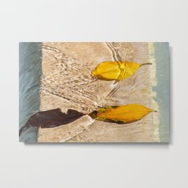 Flow with the river Metal Print