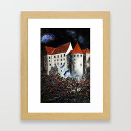 Loket Castle Framed Art Print