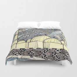 mosque Duvet Cover