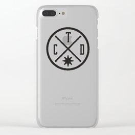 CTD Brand Clear iPhone Case