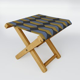 Zola Hexagon Pattern - Sundown Folding Stool