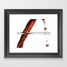 Decanting Wine Framed Art Print