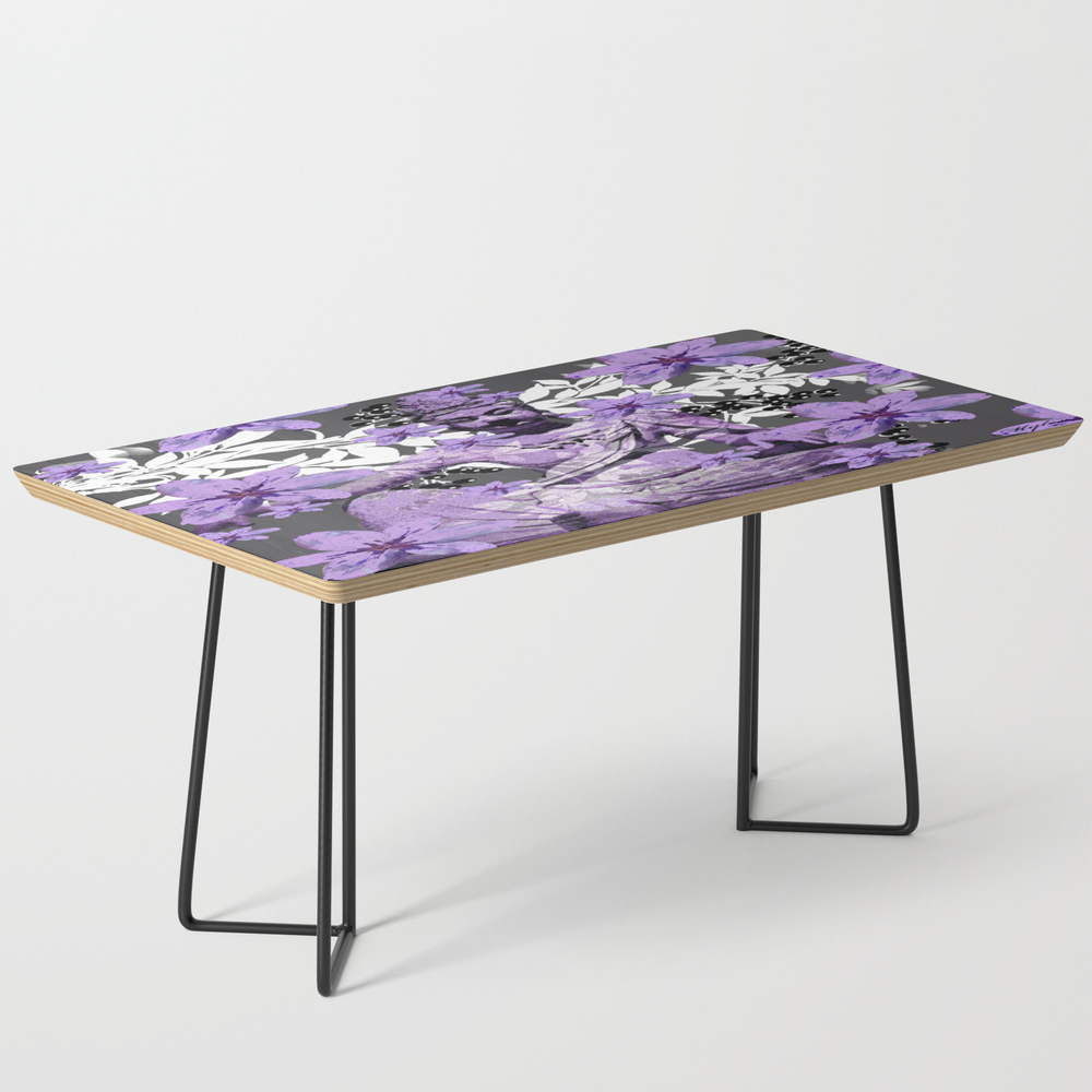 China Antiquities Yesterday Meets Today In Purple ... Coffee Table by Saundramyles