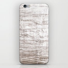 Cinereous abstract watercolor iPhone Skin