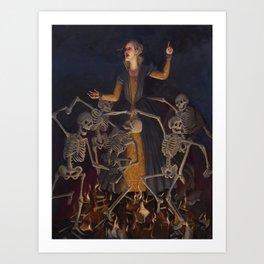 Lasses Brigitta Art Print