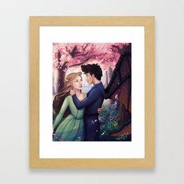 Flowerborn Framed Art Print