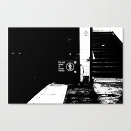 Below Canvas Print