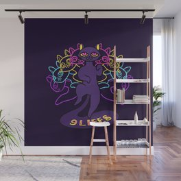 Cats have nine lives Wall Mural
