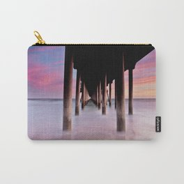 HB Sunsets 6/2/15  ~  Sunset at the Huntington Beach Pier.  Carry-All Pouch