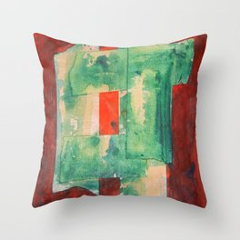 Tape Squared Throw Pillow