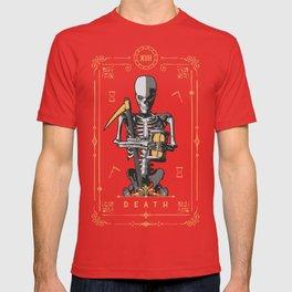 Death XIII Tarot Card T-shirt