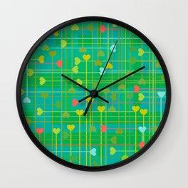 corazones van III Wall Clock