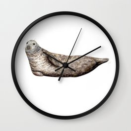Grey Seal (Halichoerus grypus) Wall Clock