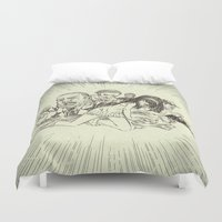sale Duvet Covers featuring On Sale by Enrico Guarnieri 'Ico-dY'